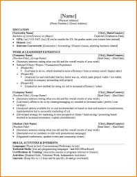 Resume Samples Undergraduate by 7 Undergraduate Cv Template Inventory Count Sheet