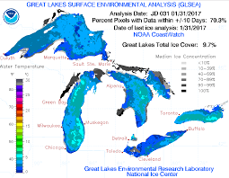 Great Lakes Airlines Route Map by Great Lakes Mostly Open Water This Winter Wisconsin Public Radio