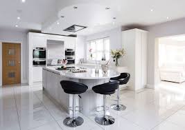 Modern Kitchen Designs With Island Kitchen Modern Minimalist White Kitchen Design With Island Plus