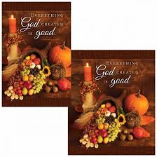 thanksgiving bulletin everything god created is