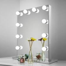 vanity hollywood lighted mirror aoleen frameless vanity mirror with light hollywood makeup lighted