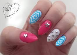 mno patriotic nail design bp11 stamping plate review