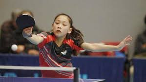 maryland table tennis center digest tiffany ke of gaithersburg wins bronze at north american