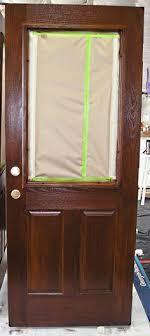 Stain For Fiberglass Exterior Doors My Fiberglass Front Door Had Wood Grain So I Decided To Use Zar