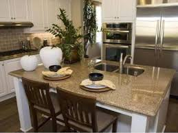 Kitchen Island With Seating For Small Kitchens My Home Design