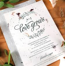 in wedding invitations the next big trends in wedding stationery