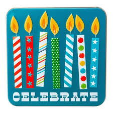 gift card tin celebrate candles gift card tin the container store