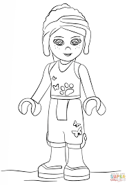 lego friends coloring pages print archives coloring pages