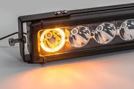 Discount Led Light Bars by Quadratec J5 Led Light Bar With Amber Clearance Cab Lights
