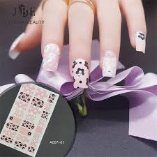 online buy wholesale leopard nail sticker from china leopard nail