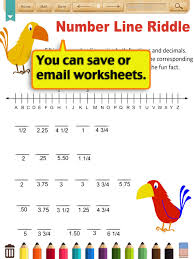 kids math decimal worksheets grade 4 apps 148apps