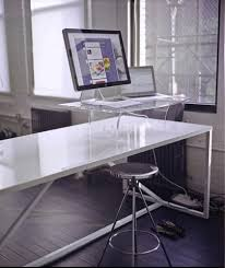 Standing Desk For Desktop How To Make A Standing Desk On Top Of A Regular Desk Examined