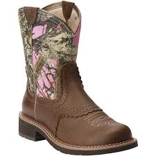 pink camo wedding rings pink camo cowboy boots ariat women s western boots