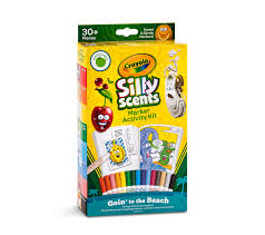 amazon com crayola silly scents scented markers activity