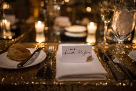 candle light dinner long island this couple threw an incredible new year s eve wedding at the roundhouse