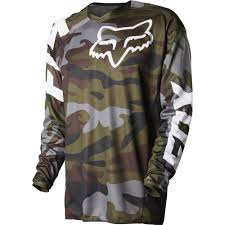 fox racing motocross gear fox racing 2015 limited edition 180 camo jersey green camo wide