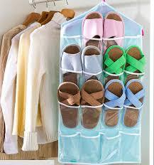 Underwear Organizer Colorful Underwear Socks Hanging Storage Bags Wall Wardrobe Pouch
