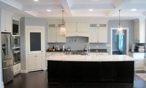 glass top kitchen island white shaker kitchen with glass top area island granite