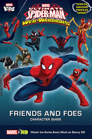 marvel u0027s ultimate spider man warriors friends foes