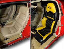 Custom Corvette Interior Corvette Seat Covers C5 Velcromag