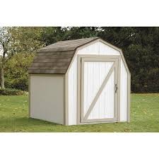 Lowes Outdoor Sheds by Shop Hopkins 8 Ft X 7 Ft Metal Storage Shed Expansion Kit At Lowes Com