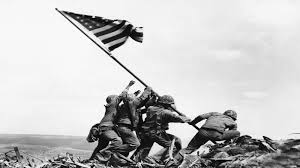 Soldier With Flag Raising The Flag On Iwo Jima National Geographic