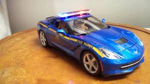 police corvette 1 18