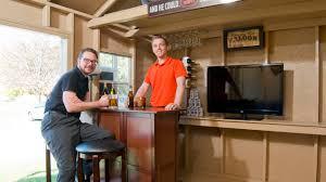 backyard bar shed ideas build a bar right in your backyard