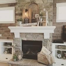 Fireplace Decor Best 25 Fireplace Decor Summer Ideas On Pinterest Summer Mantel