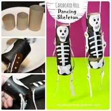 cardboard roll dancing skeleton u2013 the pinterested parent