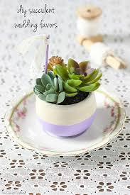 succulent wedding favors decoart crafts diy succulent wedding favors