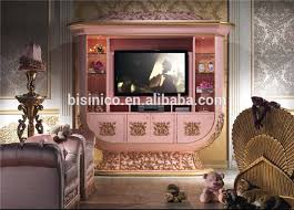 Royal Bedroom Set by Italian Luxury Design Children Bedroom Furniture Set Elegant Pink