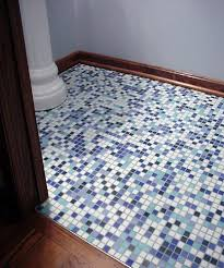 mosaic bathroom floor tile ideas mosaic bathroom floor tile flooring ideas pertaining to 7