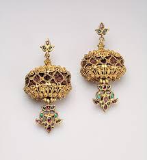 gold earring design indian jewellery design 2016 gold earrings