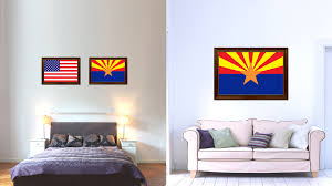 home design gifts arizona state flag home decor office wall livingroom interior