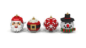 Character Christmas Ornaments Lego Ideas Christmas Balls Ornaments