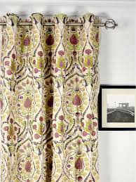 sheer curtains homeminimalis com embroidered picture