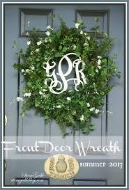 wreath for front door front door wreath summer 2013 stonegable