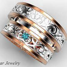 unique matching wedding bands matching ideas collections
