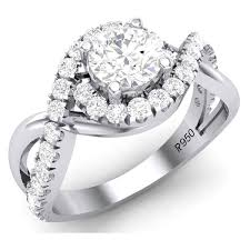 best platinum rings images 50 pointer platinum solitaire engagement ring w shank twist jl pt jpg