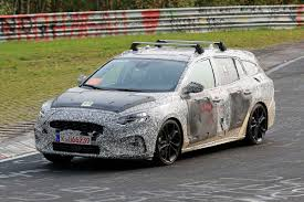 new 2018 ford focus estate spied testing at the nurburgring auto