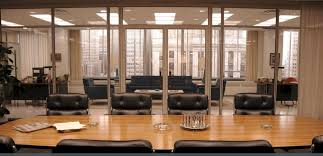 mad men office mad men style a look at 1960 s decor mad men man office and