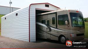 Trailer Garage Metal Garage For One Car 14 U0027 X 36 U0027 Shop Metal Buildings Online