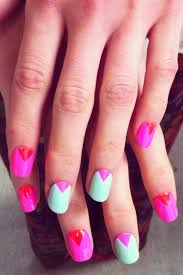 24 best triangles geometric nails images on pinterest
