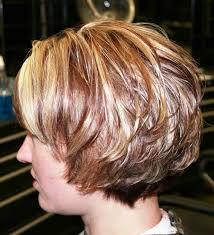 back view wavy short bob for thick hair 2015 the 25 best stacked hairstyles ideas on pinterest woman short