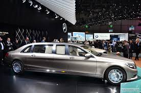 mercedes maybach 2015 mercedes maybach pullman geneva 2015 live 13 images 2015 geneva