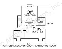 Empty Nest Floor Plans Waterford Empty Nester House Plan Ranch Floor Plans