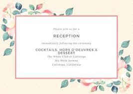 wedding reception card wording invite for wedding reception wording zoolook me
