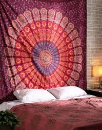 Bedroom Tapestry Indian Wall Bedroom by Indian Star Hippie Mandala Psychedelic Wall Hanging Tapestry Throw