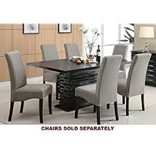 Modern Contemporary Dining Table Coaster Home Furnishings Stanton Modern Contemporary